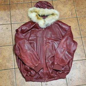 🍬Pelle Pelle Leather Bomber 🍬